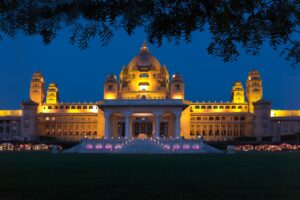 Best Resorts in Rajasthan - Digital Presence - Umaid Bhawan Palace, Jodhpur