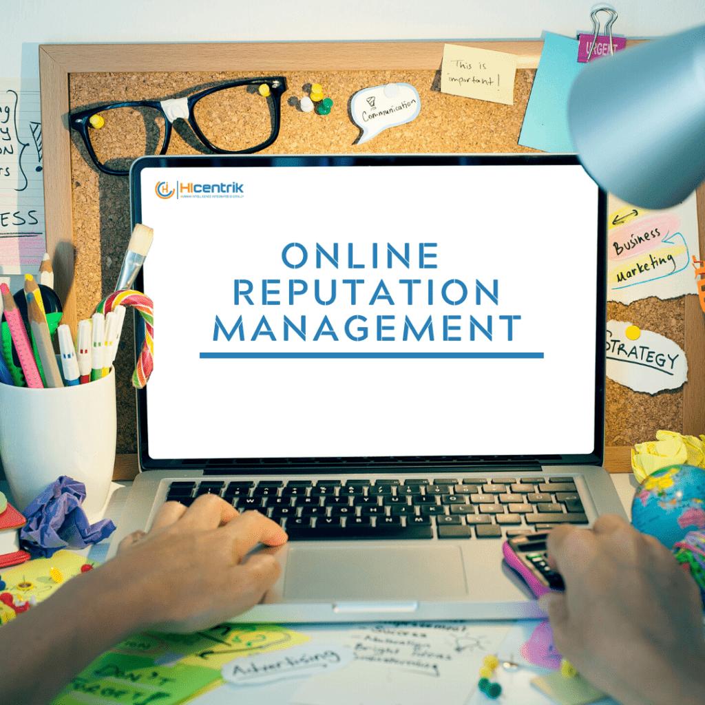 Online Reputation Management - A Distinctive Content Approach