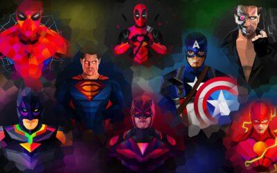 Super Heroes in Corporate Jobs