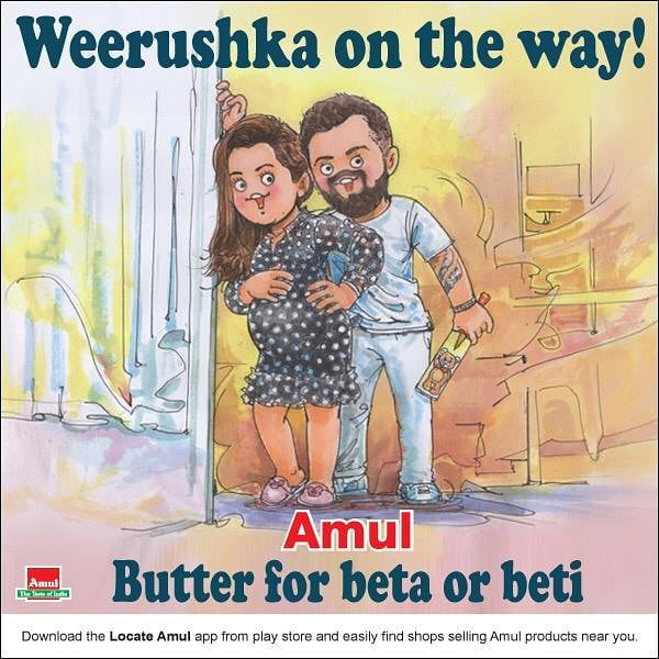 Topical Advertising - Amul
